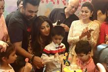 Aishwarya Rai, Riteish Deshmukh Attend Shilpa Shetty's Son Viaan's Birthday Party