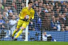 Courtois Quashes Rumours, Says He'll Stay With Chelsea