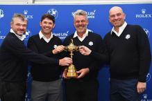 Bjorn, Harrington, Lawrie Picked as Ryder Cup Vice-captains