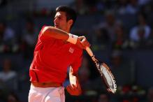 Djokovic Celebrates Madrid Return With First-Round Win