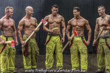 Firefighters Posing for Charity Will Melt Your Hearts and Weaken Your Knees