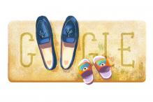 Google Doodles Adorable Pairs of Shoes on Mother's Day