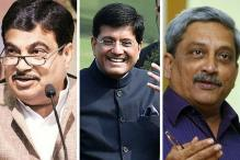 Gadkari, Goyal, Parrikar Top Rated Modi Ministers: Poll