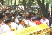BJP Protests Against Hike in House Taxes in Bengaluru