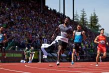Justin Gatlin Eases to Win 100m Title at Prefontaine Classic