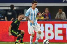 Messi Joins Team Argentina For Pre-Copa Friendly
