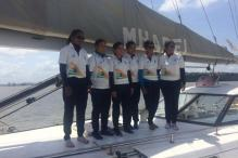 Navy's All-Women Crew on Open Sea Voyage to Mauritius
