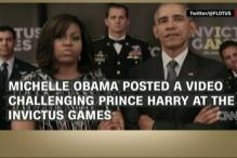 Obamas Challenge Royals to The Invictus Games