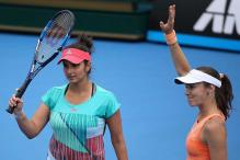 Sania, Hingis Storm Into Madrid Open Title Clash
