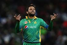 Shahid Afridi Excited About Indo-Pak Champions Trophy Clash