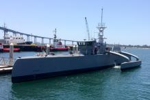 US Tests World's First Unmanned Ship for Seafaring Missions