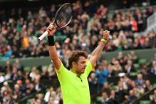 Wawrinka Happy to Avoid Making Unwanted History