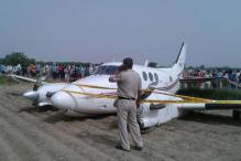 Plane With 7 People on Board Crash Lands in Delhi, All Safe