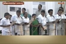 Watch: 28 TN Ministers Take a Joint Oath