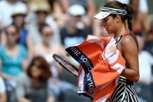 Elina Svitolina Ousts Former Champion Ana Ivanovic in French Open
