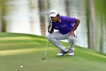 Lahiri Survives Roller-Coaster Round to Make Cut at Byron Nelson