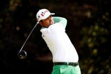 Anirban Lahiri One-shot Back of Quail Hollow Leaders