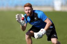 Bairstow Hones Wicketkeeping Skills With Newcastle Goalkeeping Coach