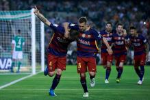 Barcelona Beat Betis, Move Closer to La Liga Title