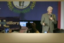 Former President Bill Clinton Campaigns for Hillary Clinton