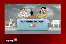 Breaking Toon: Ridiculous Loyalty Bond of Politicians to Gandhi Family