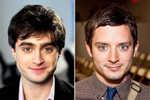 This GIF of Daniel Radcliffe Transforming into Elijah Wood is Hypnotic