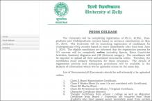 DU Undergraduate Admissions Delayed, to Begin From June 1