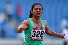 Dutee Chand Wins Gold in Taiwan But Still Short of Olympic Mark