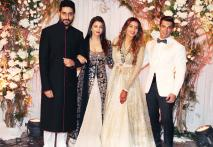SRK, Salman, Bachchans Attend Bipasha-Karan's Wedding Reception
