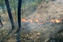 Forest Fire Rages in Uttarakhand, Himachal Pradesh and J&K Hills