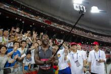 Gatlin Sprints Toward Rio Olympics Showdown With Second China Win