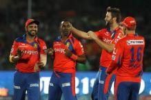 A Trophy for Suresh Raina, Gujarat Lions Celebrate Reaching Playoffs
