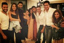 When 'Housefull 3' cast gatecrashed at Asin's house at midnight