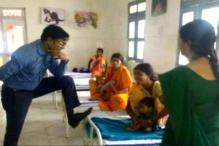 Chhattisgarh IAS Officer Puts Feet on a Patients' Bed, Apologises