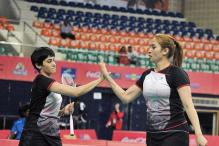 Shuttlers Jwala, Ashwini Rise One Spot in World Rankings