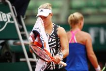 Bertens Stuns Aus Open Champion Kerber in First Round of French Open