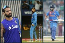 Kohli, Rohit, Dhawan Likely to Be Rested for Zimbabwe Tour