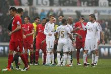 Liverpool lose 3-1 at Swansea in Premier League