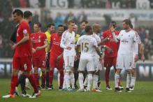 Liverpool lose 3-1 at Swansea in Premier League
