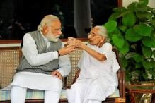 Modi Posts Photos Of His Mother's Visit to Delhi, Says Spent Quality Time