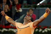 Nadal, Murray, Djokovic reach semis of Madrid Masters
