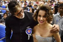 Photos: Big B, Kangana Honoured With National Awards