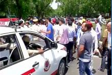 Traffic Woes for Commuters as Protesting Taxi Drivers Block NH-8