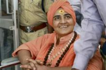 Sadhvi on Fast in Jail, Seeks Immediate Release to Attend Kumbh