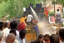 BJP, Congress Protest Against Water Crisis, Power Cuts in Delhi