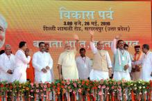 End BJP's Exile in State, Rajnath Singh to UP Voters