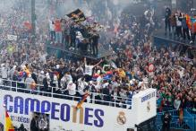 Victorious Real Madrid Get Heroes Welcome in Spanish Capital