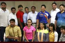 Sachin Tendulkar Meets Rio-bound Wrestlers, Boosts Morale