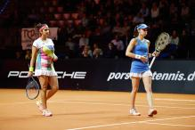 Sania-Hingis Remain on Top of Women's Doubles Rankings