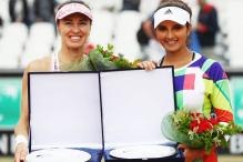 Sania Mirza-Martina Hingis Take Maiden Clay Court Title in Rome